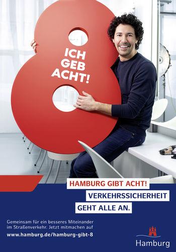 """MANU AGAH PHOTOGRAPHY für die STADT HAMBURG - Plakat Kampagne """"HAMBURG GIBT ACHT!"""""""