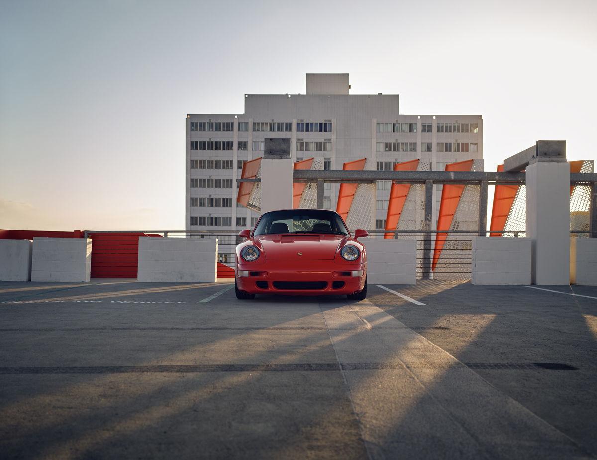 """SEVERIN WENDELER: """"Dan Brunn & his Porsche 993 Carrera 4S"""" Photographs by Lisa Linke c/o Severin Wendeler"""