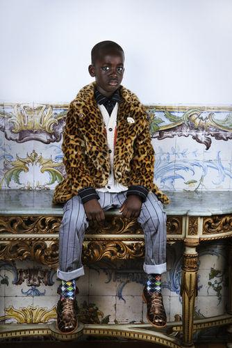 ISABEL PINTO photographs 'SAPOLOGY' for Hooligans Magazine