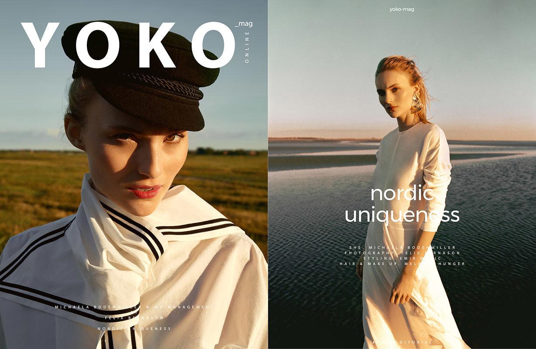 BIGOUDI: Melanie Hunger für Yoko Magazin