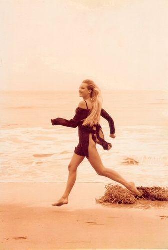 Donna Karan Fashion on El Matador Beach