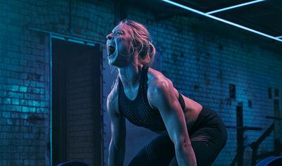 Gym Box - Punish Yourself Buff