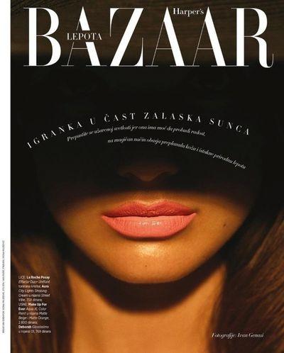 MYRTILLE REVEMONT for HARPER`S BAZAAR SERBIA