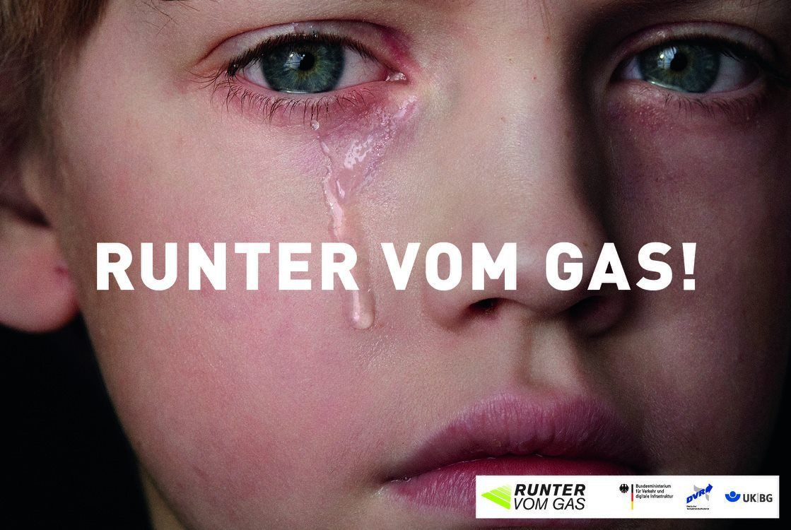 CLAAS CROPP CREATIVE PRODUCTIONS for 'Runter vom Gas'