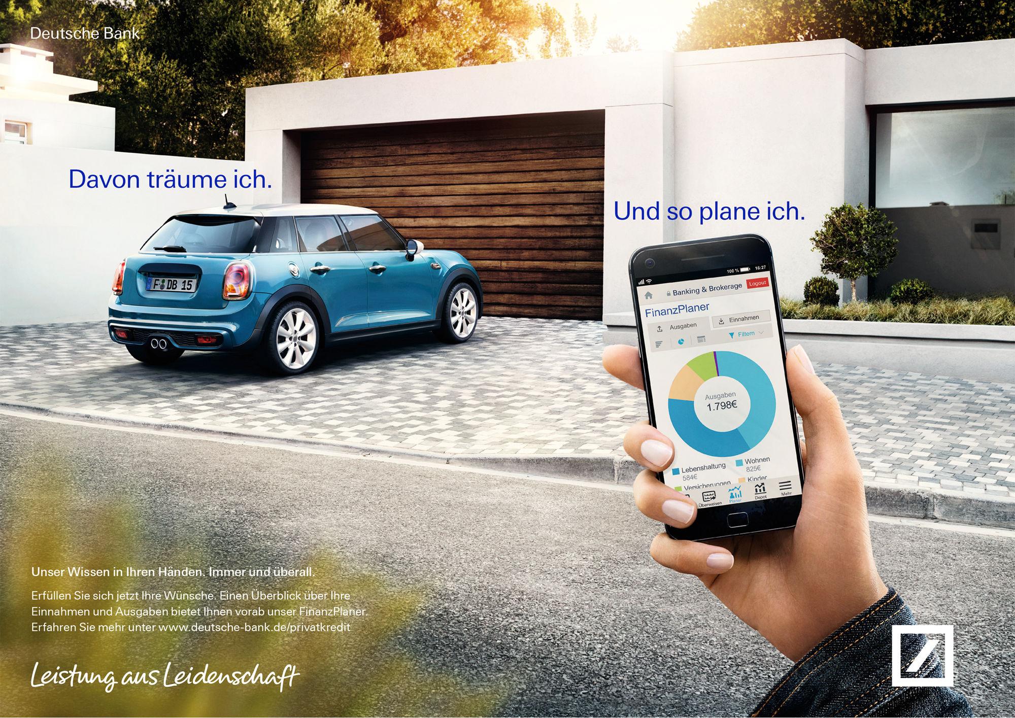 Gosee Deutsche Bank Kampagne