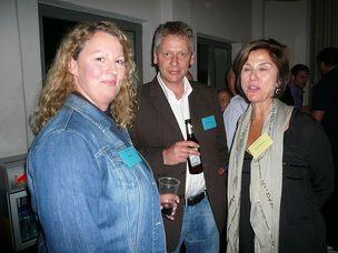FFF-WELLWORK : Britta Joh (Y&R), Klaus Flemmer (Publicis) and Sabine Gehrisch (G&K)