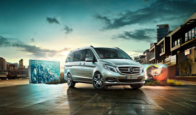 ANKE LUCKMANN for MERCEDES-BENZ