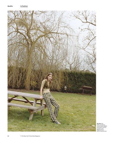 Femke Huijzer by Axel Filip Lindahl for T Magazine