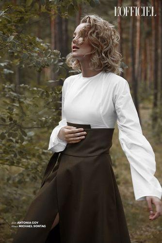 LIGANORD ARTIST RICARDA VENJACOB / STYLING - L'OFFICIEL
