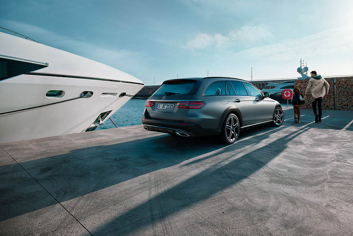 MERCEDES-BENZ E CLASS LIMOUSINE & T-MODELL by  Frithjof Ohm