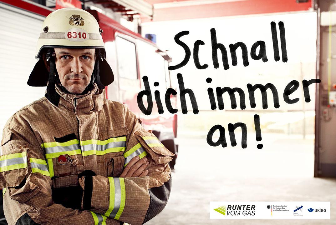 """""""Runter vom Gas"""" Kampagne"""