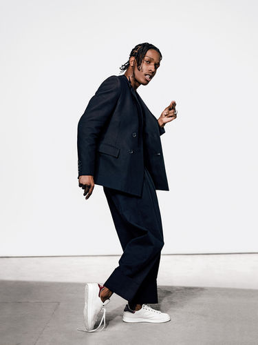 A$AP Rocky for GQ Germany by Robert Wunsch