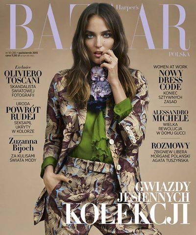 AFPHOTO: Ina LEKIEWICZ for Harper's Bazaar Poland