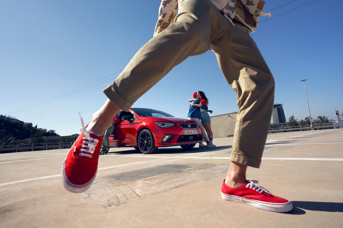 """SEVERIN WENDELER: """"Summer campaign for the SEAT Ibiza"""" Photography by HE&ME c/o Severin Wendeler"""