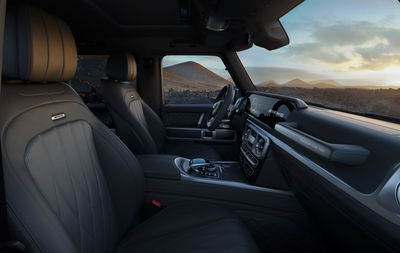 MARKUS WENDLER : Mercedes Benz G Class Manufaktur 'STRONGER THAN TIME' Edition