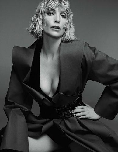 VIVA MODELS: Nadja Auermann for Tush Magazine #42