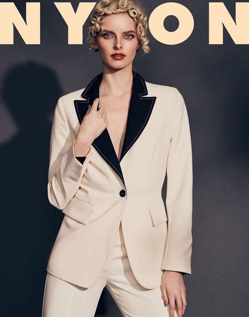 Elza for Nylon Magazine Spain shot by Lalo Torres