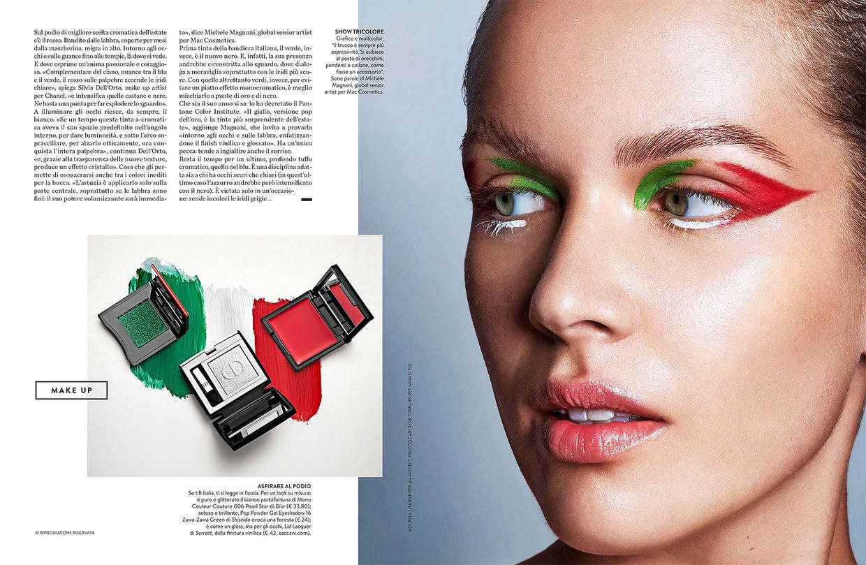 NINA KLEIN, Hair & Make up Caroline Torbahn for AMICA by Straulino