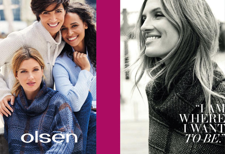MARION WALTER for Olsen
