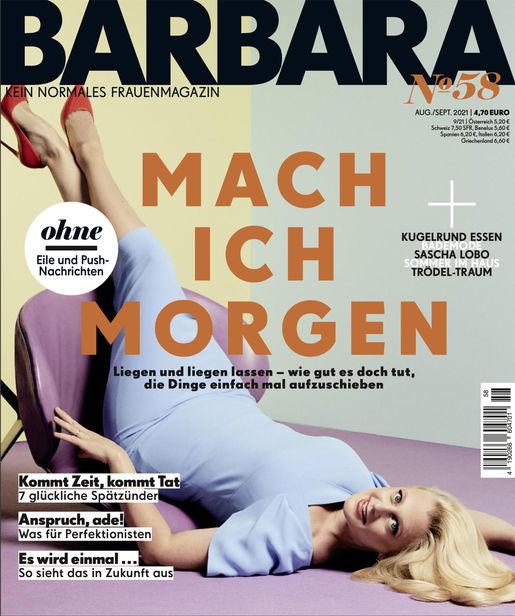 """BARBARA - """"Mach ich morgen"""" - Setdesign Kathleen @basics"""