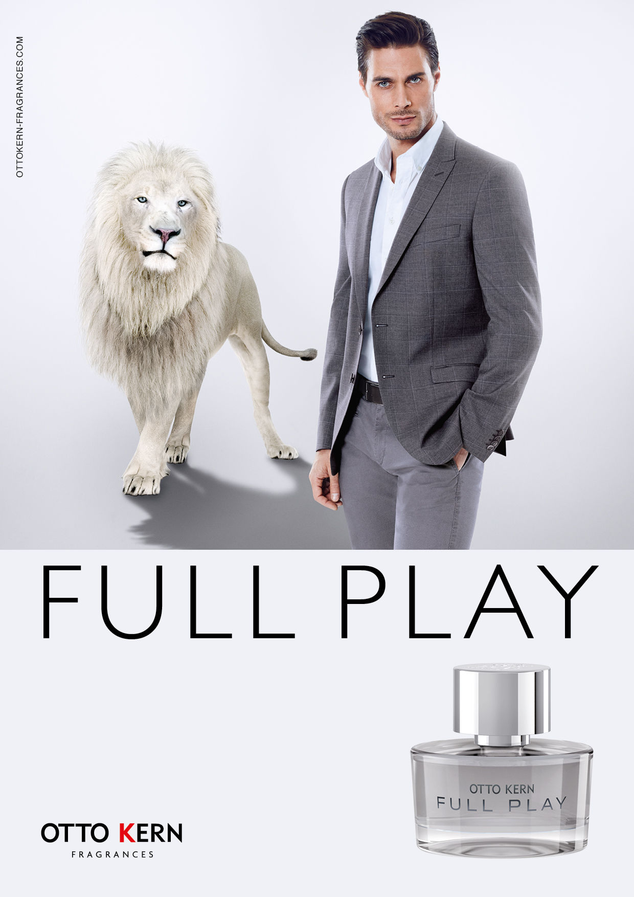OFENSTEIN WERBEAGENTUR for Otto Kern's Fragrance 'Playful' & 'Full Play'