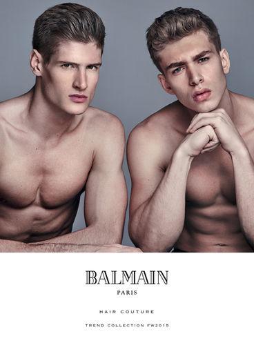 HUNTER & GATTI for BALMAIN HAIR COUTURE