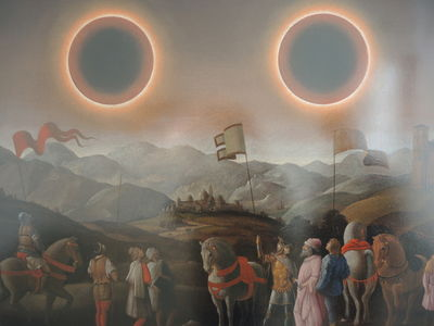 GOSEE ART : SOLEIL DOUBLE by  Laurent Grasso