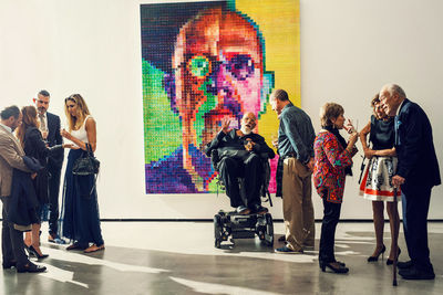 Christopher Anderson shoots Chuck Close for THE NEW YORK TIMES MAGAZINE