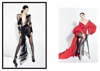 Bella Hadid for Alexandre Vauthier