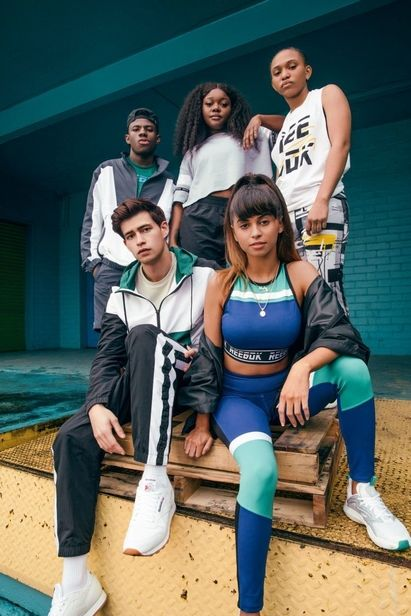 Micaiah Carter c/o GIANT ARTISTS photographed the new FW19 MYT collection by Reebok