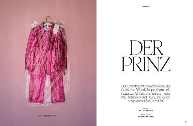 "RECOM : BEST FASHION Magazine Editorial ""Prinz"""