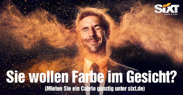 LIGANORD HAMBURG/BERLIN: Rebecca J. Herrmann / Hair Make-up & Special Effects für die Sixt Cabrio Kampagne