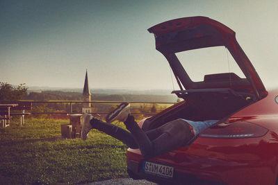 FRITHJOF OHM + PRETZSCH im Porsche Panamera mit myMuesli Gründer Max Wittrock