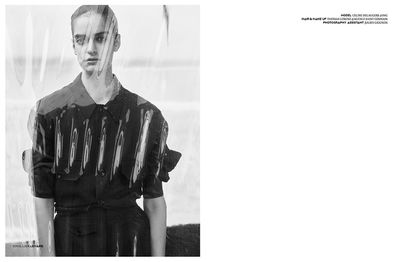 Thomas Lorenz Make up for PIBE MAGAZINE