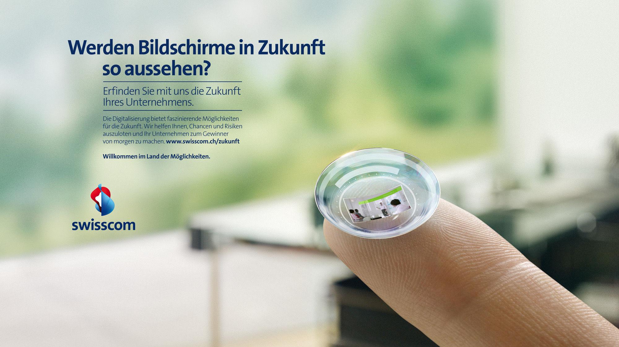 MARKUS MUELLER for Swisscom