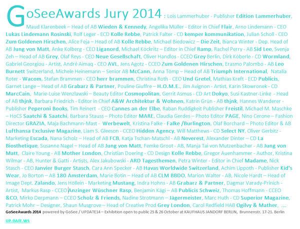 GoSee AWARDS 2014