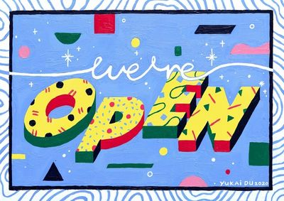 WE'RE OPEN / AMERICAN EXPRESS by Yukai Du c/o MAKING PICTURES