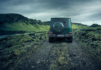 The new Mercedes-Benz G-Class by MARKUS WENDLER 'Iceland'