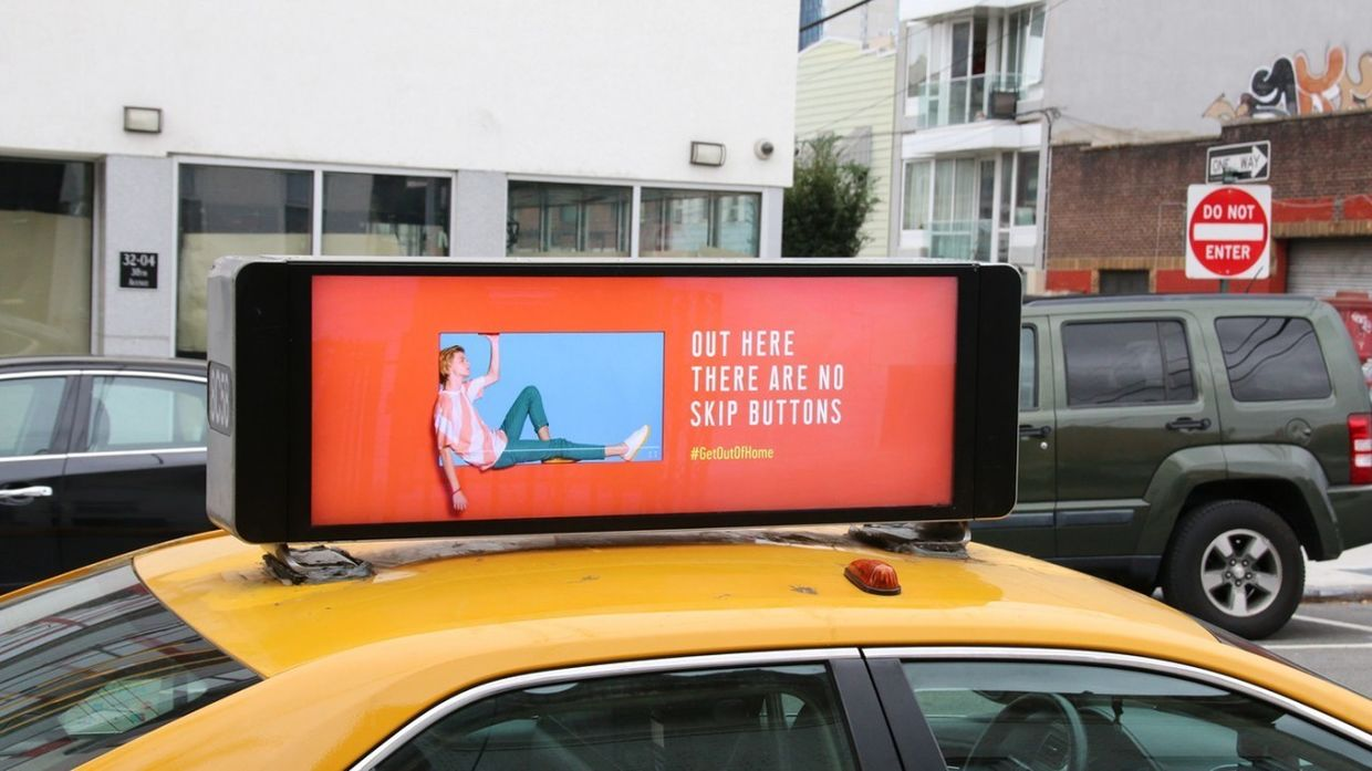 COSMOPOLA | Ilka & Franz for OAAA (Outdoor Advertising Association of America)