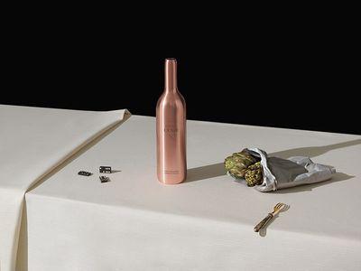 DIRK WEYER for Ageing Wine Bottle / Weingut Knipser
