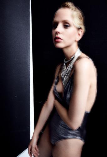 "Fashion editorial ""schizophrenia"" shot for HUF magazine."