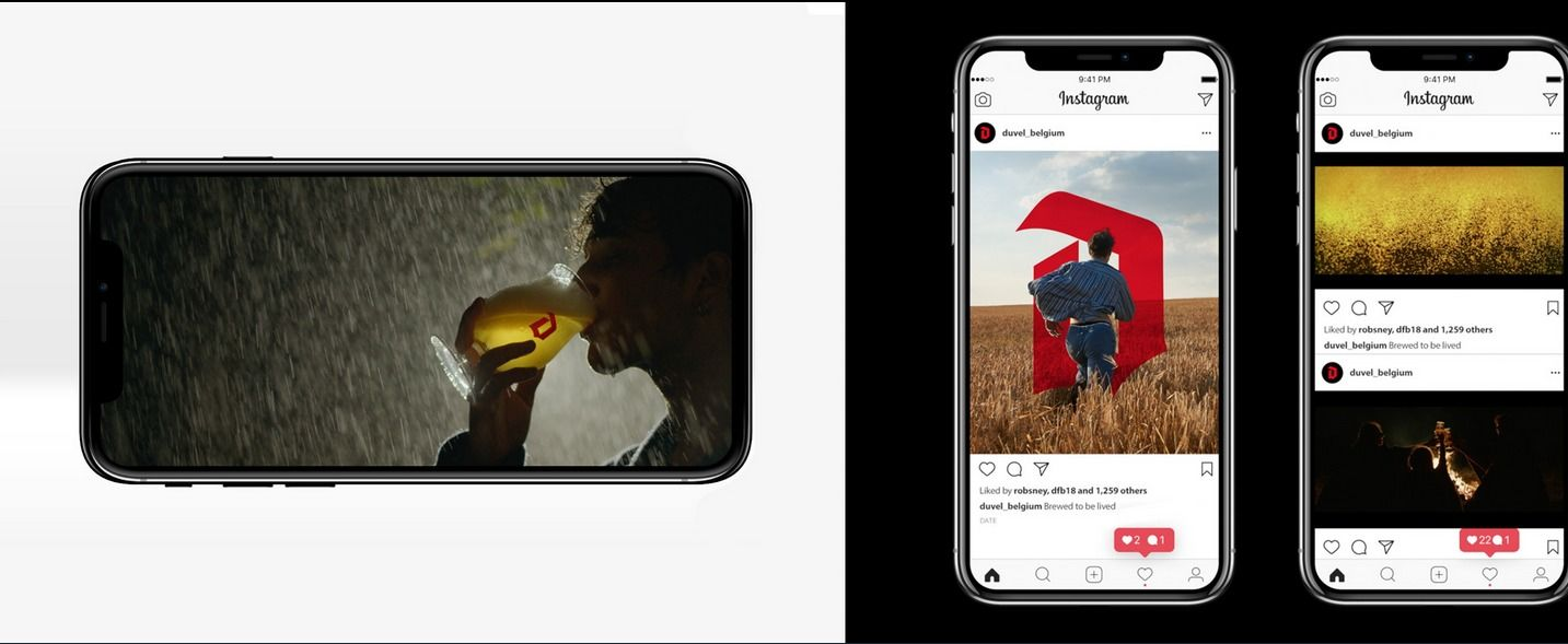 Duvel, Follow the Storm, new Print & Motion Campaign