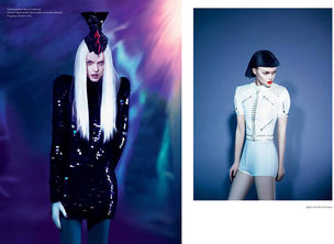 AGENTUR ROUGE : Angela SKALLA for MATERIAL GIRL MAGAZINE