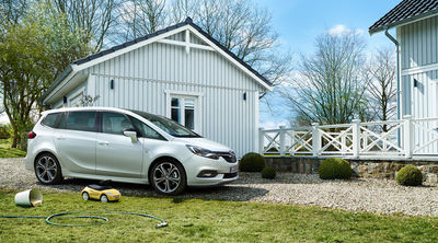 Opel Zafira mit Jan Friese