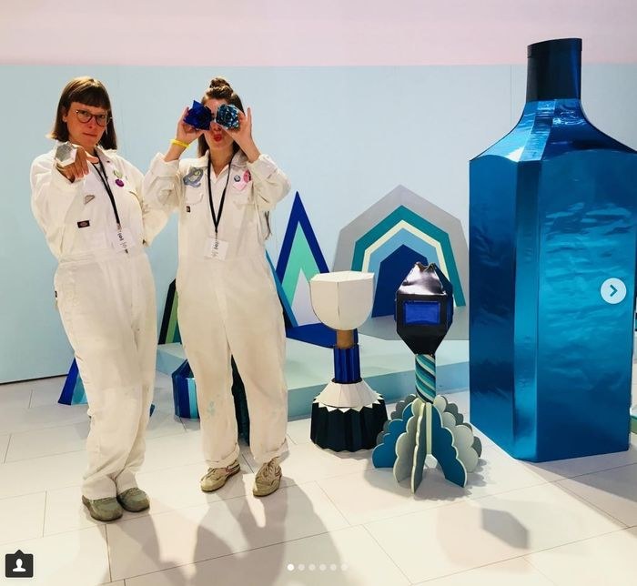 COSMOPOLA | Cris Wiegandt & Lacy Barry (CRIZILLA DELASEY) for CANVAS BAR BOMBAY SAPPHIRE
