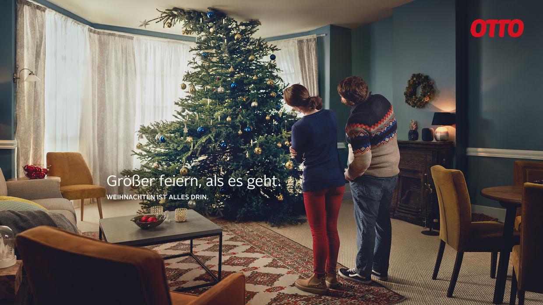 Markus Mueller fotografiert für OTTO die neue Weihnachtskampagne ...