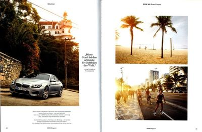 21 SUN PRODUCTIONS featured in BMW magazine