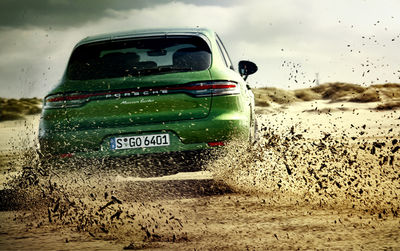 The New Porsche Macan Turbo! From Sylt to Rømø - by MARKUS WENDLER