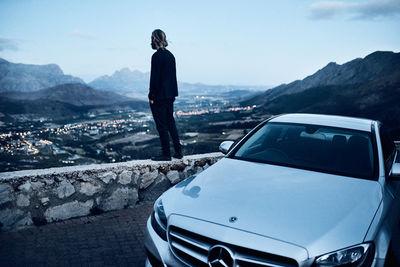 "SEVERIN WENDELER: Photography by ""Maximilian Motel c/o Severin Wendeler"" Mercedes C-CLASS Roadtrip"