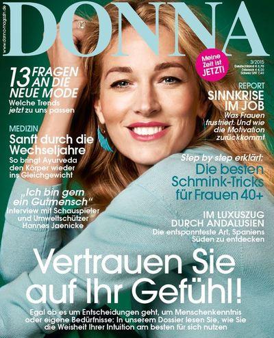 Cover DONNA magazine